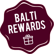 Spend more, save more with Balti House loyalty points.