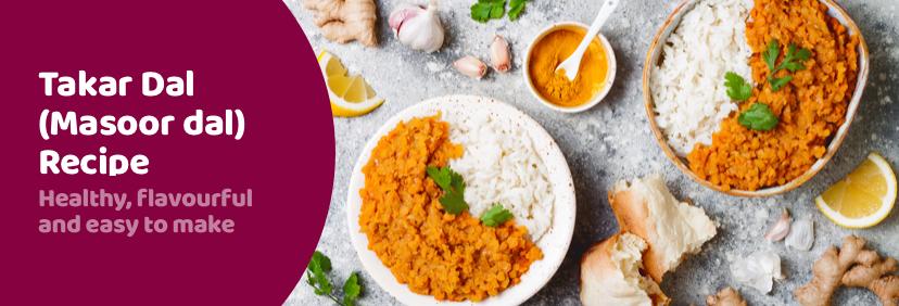 Tarka Dal (Masoor dal) Recipe